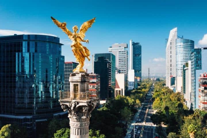 Ángel de la Independencia. CDMX. Imagen: archivo 5