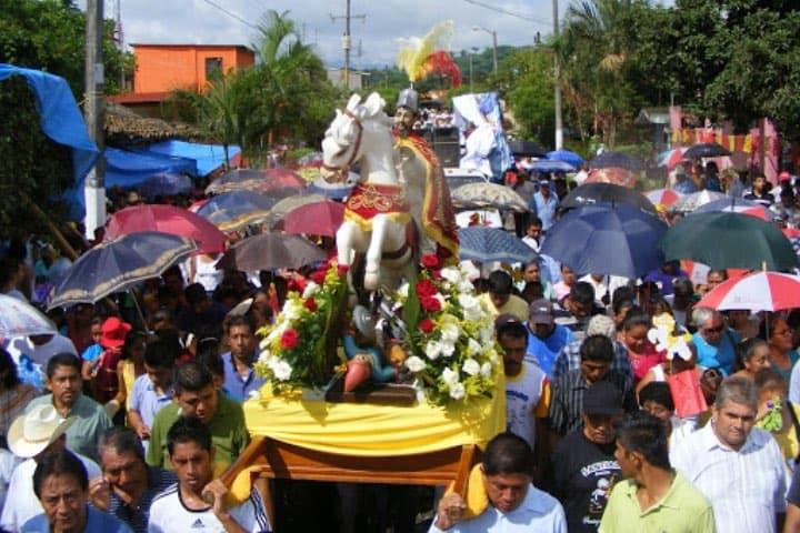 Aquí se festeja a Santiago Apóstol. Foto: Los Políticos Veracruz