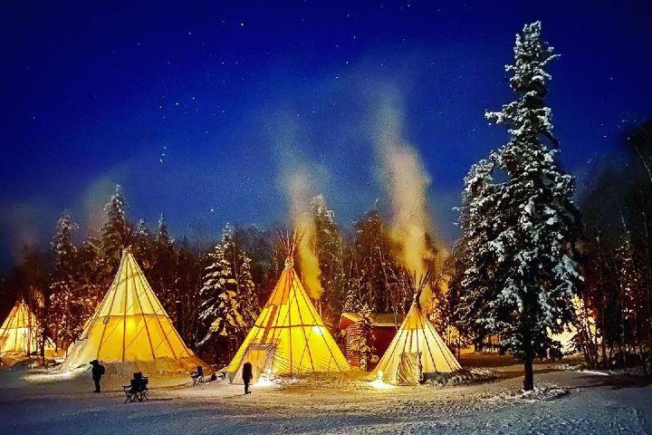 Aurora Village. Yellowknife. Imagen: archivo