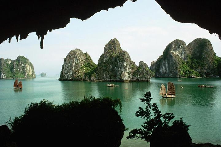 Que hacer en la Bahía Ha-Long en Vietnam. Foto: Mi Molesine Arquitectónico