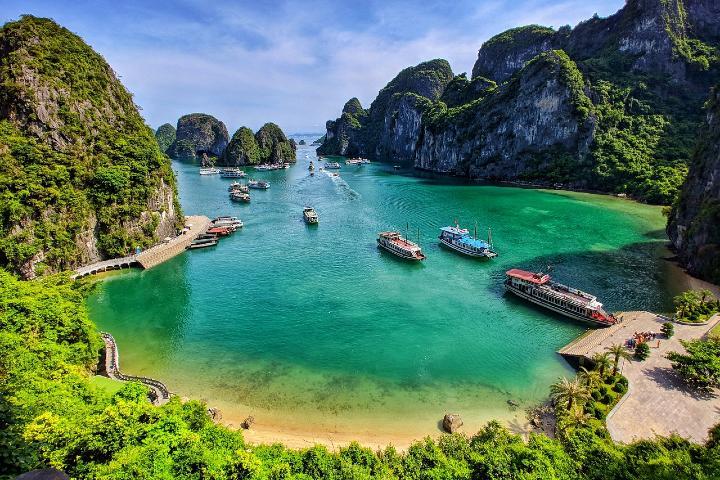 Que hacer en la Bahía Ha-Long en Vietnam. Foto: Travel Magazine