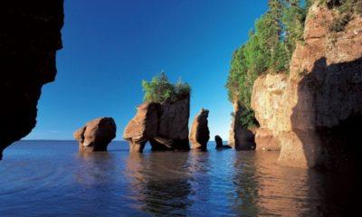 Bahía de Fundy en Canadá. Foto: Playas Calas