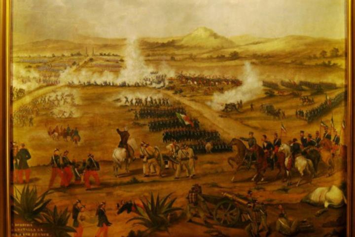 Batalla de Puebla Foto-Infobae