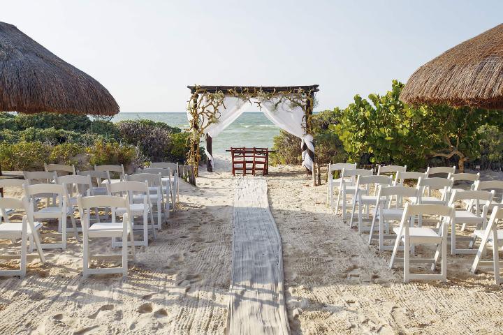 ¿No has soñado con tener tu boda en playa? Foto: eBodas