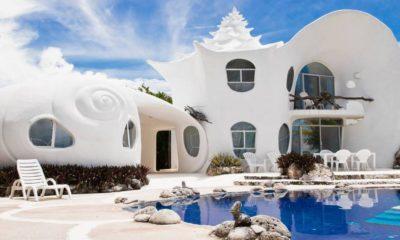 Casa Caracol de Isla Mujeres. Foto: Grazia