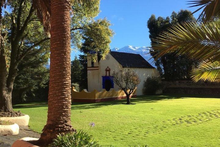 Capilla en la Hacienda San Andrés. Ayapango. Imagen: haciendasanandres