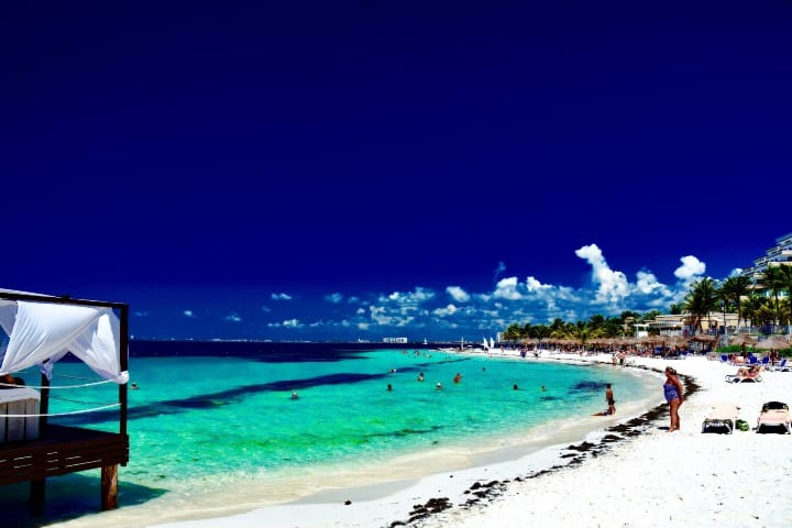 Caribe mexicano en modo navideño. Foto_ Roberto Iglesias