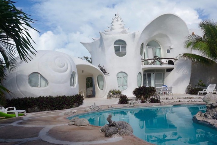 Casa Caracol. Foto Airbnb.