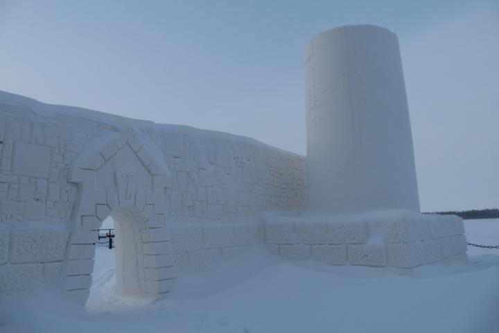 Castillo de Nieve de Keni. Foto: Minube