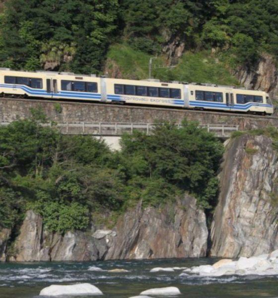Centovalli Express Ferrocarriles. Foto: Merca2