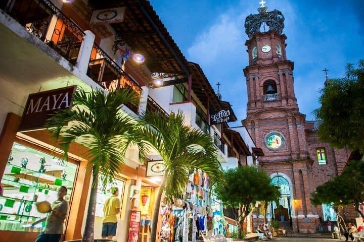 Centro Histórico de Puerto Vallarta. Foto: Pinterest