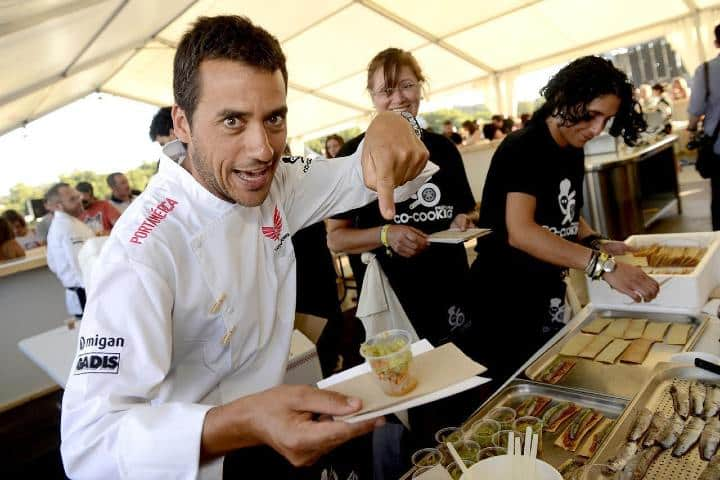 La comida que preparan los chefs es deliciosa. Foto: Diario de Pontevedra