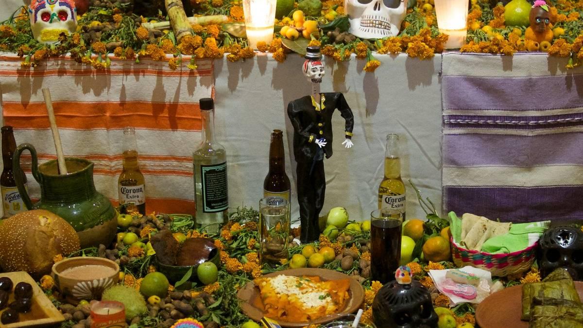 Comida tradicional Maya Hanal Pixán