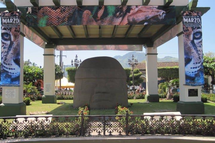 Cultura Olmeca en Santiago. Foto: Veracruz Turismo
