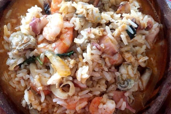 Delicioso el Arroz a la Tumbada en Mandinga Veracruz. Foto: wenguapa