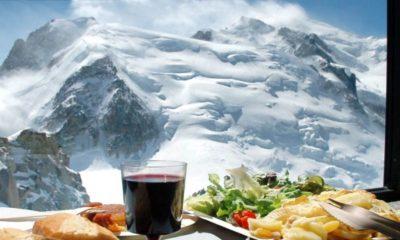 Desayuno en las alturas Foto- Chamonix