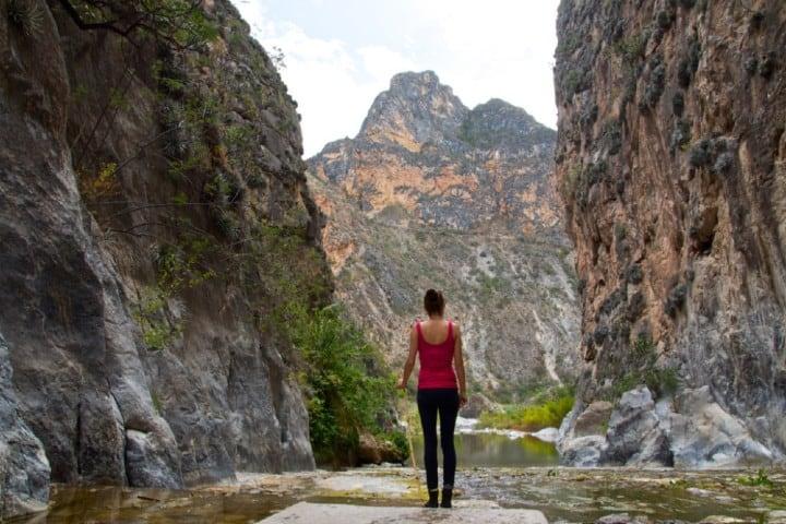 Disfruta una caminata en el Cañón del Paraíso Foto: City Express