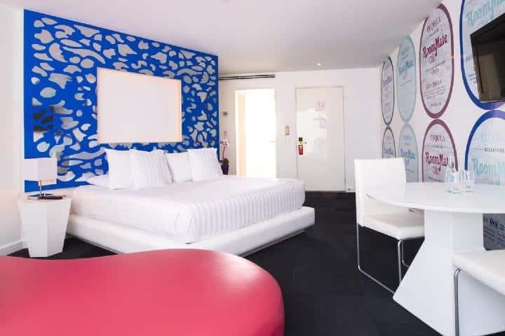 El diseño de las habitaciones te quitarán el aliento. Foto: roommatehotels