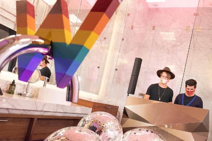 El hotel W es feliz de abrirle las puertas a la diversidad Foto: WMexicoCity