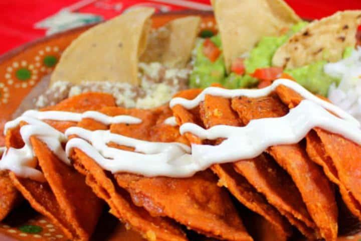 Enchiladas Potosinas. Foto: Quadratin San Luis Potosí