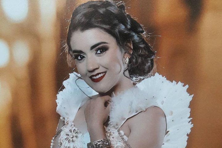 Giovana es una de las reinas de la Feria de Moroleón. Foto: moroleon_guanajuato