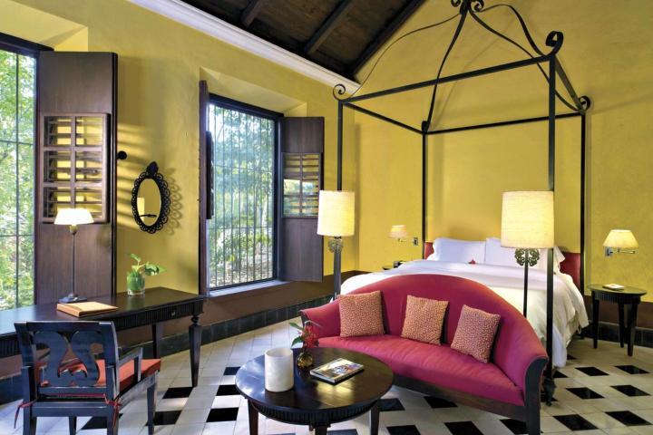 Habitación de Hacienda Uayamón en Campeche. Foto: Estrellas del Viaje