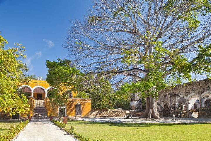 Hacienda Uayamón de Campeche. Foto: Booking