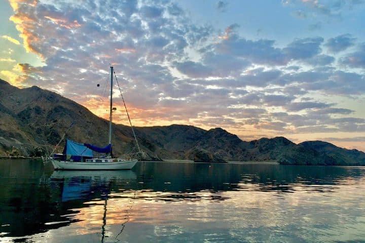 Hermosos atardeceres en Isla Coronado. Baja California Sur. Imagen: archivo
