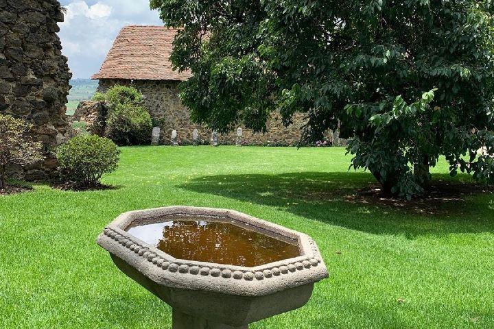 Hermosos jardines de la Hacienda. Estado de México. Imagen: haciendas