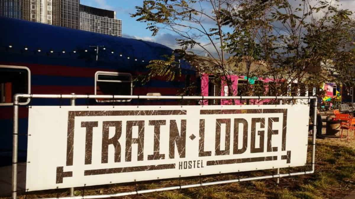Hostal Train Lodge en Ámsterdam. Foto: Train Lodge
