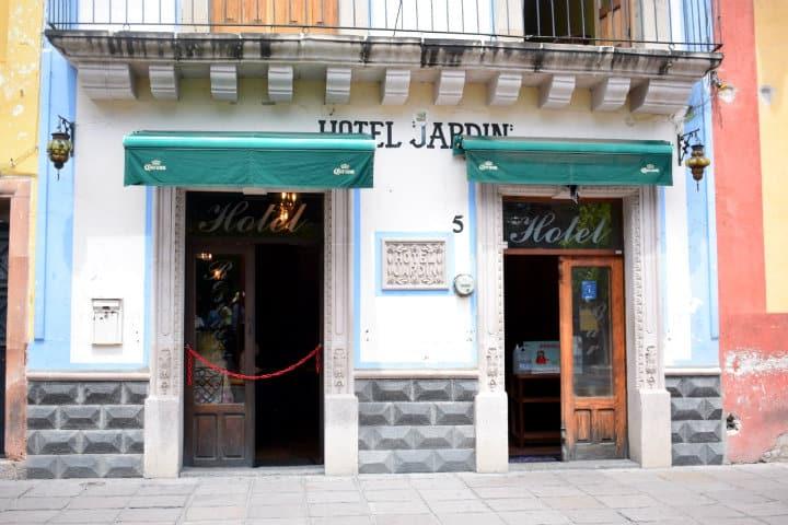 Hotel Jardín. Foto Escriba