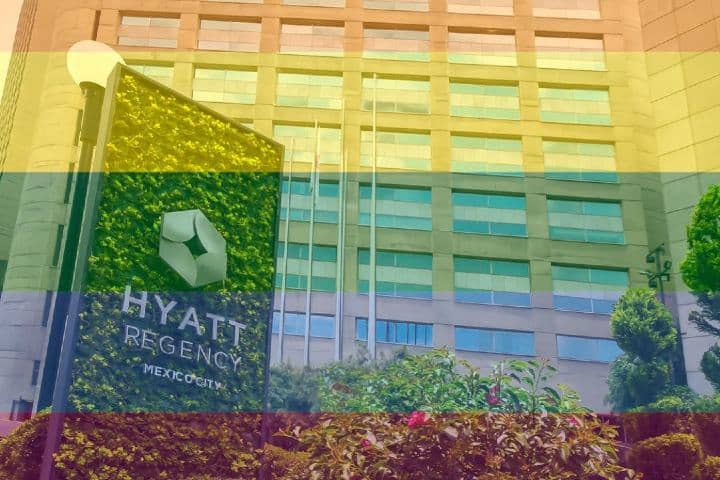 Hyatt Regency te da la bienvenida ¡Uno de los hoteles LGBT en Ciudad de México. Foto: hyattregencymexico