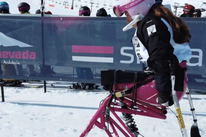 Incluso en la nieve todas las personas se pueden divertir Imagen: Tourinews