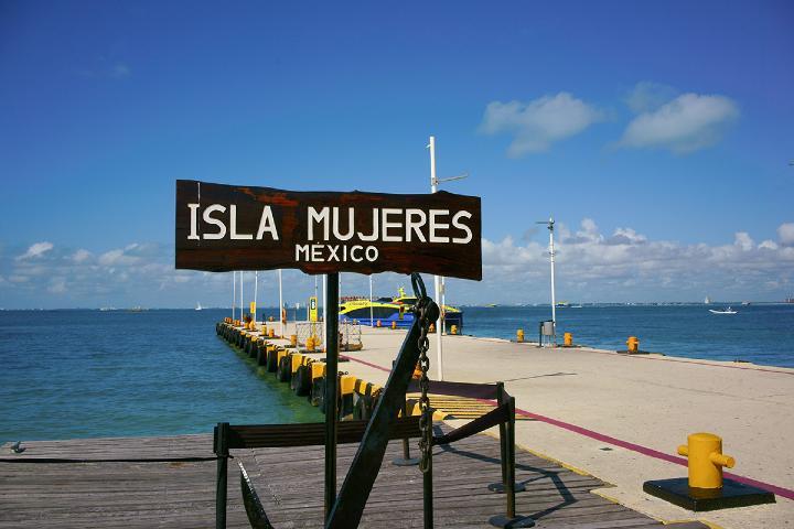 En mi viaje familiar a Cancún visitamos Isla Mujeres. Foto: Villa del Palmar Cancun