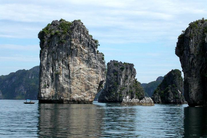 Islas de Bahia Ha-Long. Foto: Thomas Hirich