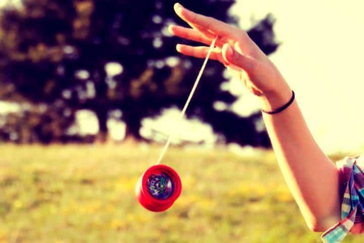 Jugando Yo-yo. Imagen: ThoughtCo