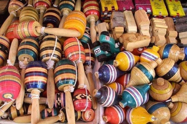 Juguetes tradicionales mexicanos. Foto: EFE Salud