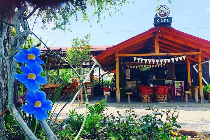 La casita del café en Comala es parte de la Ruta del Café en Colima. Foto: lacasitadelcafee