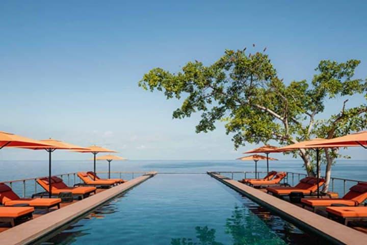 La piscina infinita es uno de los atractivos más espectaculares. Foto: Archivo
