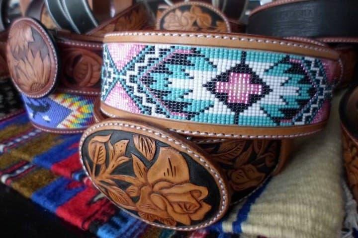 La talabartería es parte de las artesanías de Zacatecas. Foto: El Sol de Zacatecas