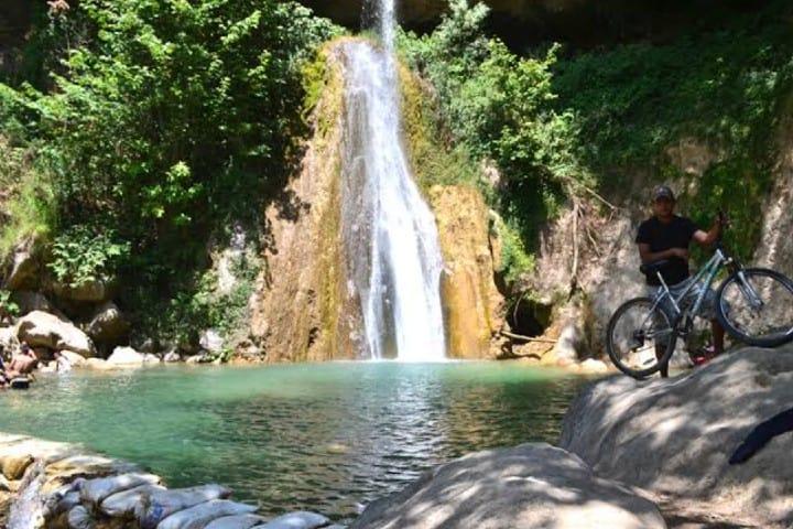 Las espectaculares cascadas Foto: Tetela de Ocampo Puebla