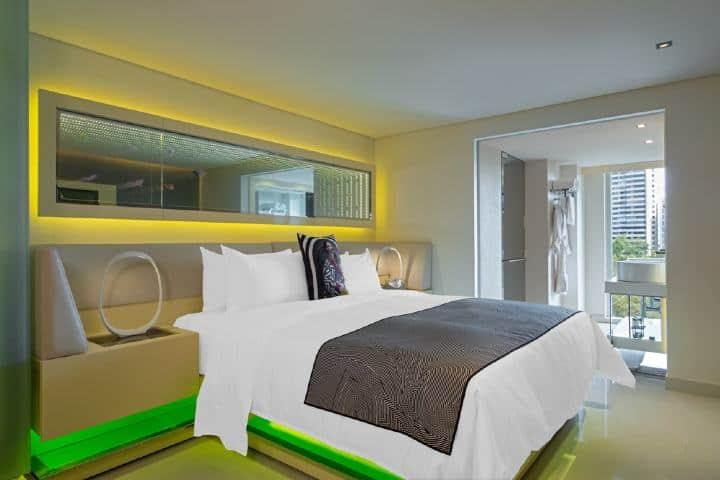 Las habitaciones del hotel W te darán la mejor comodidad en la ciudad Foto: Viajes el Corte Ingles