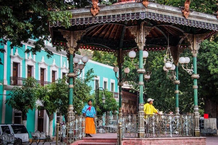 Los rarámuri están presentes en este lugar. Foto: Ted McGranth