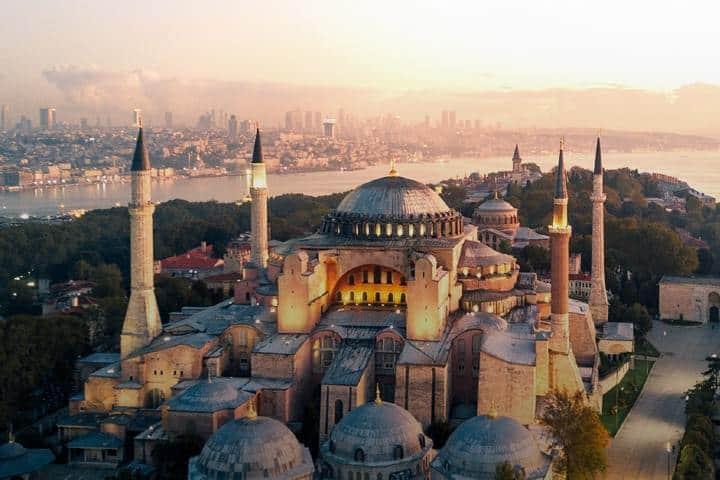 Lugares que visitar. Turquía. Imagen archivo 10