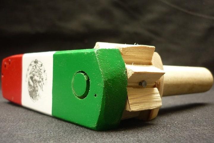 La matraca es un juguete tradicional mexicano. Foto: Carmen Saavedra   Flickr