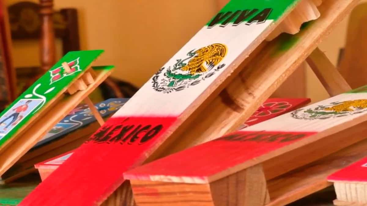 Matraca, juguete tradicional mexicano. Foto: Archivo