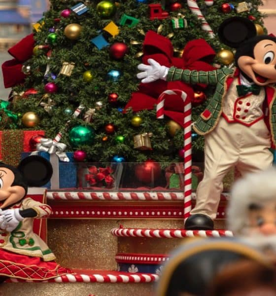 Mickey y Minnie en Magic Kingdom celebrarán la Navidad en Disney World Resort. Foto: Archivo