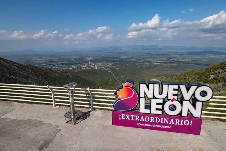 Mirador de Grutas de Bustamante, Pueblo Mágico de Nuevo León. Foto: Archivo