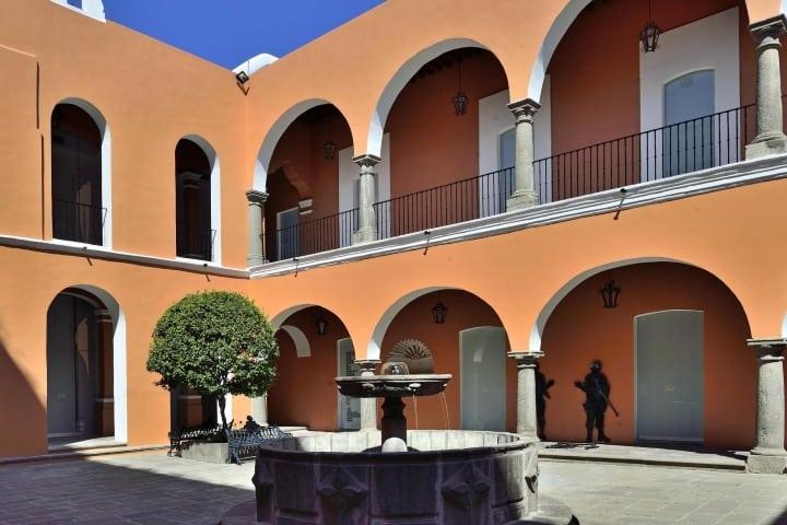 Interior del Museo Amparo en Puebla. Foto: Archivo