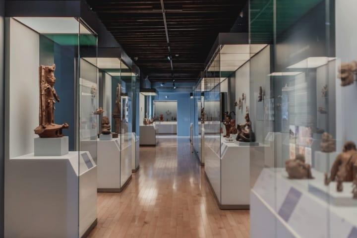 Exposiciones del Museo Amparo en Puebla. Foto: Archivo